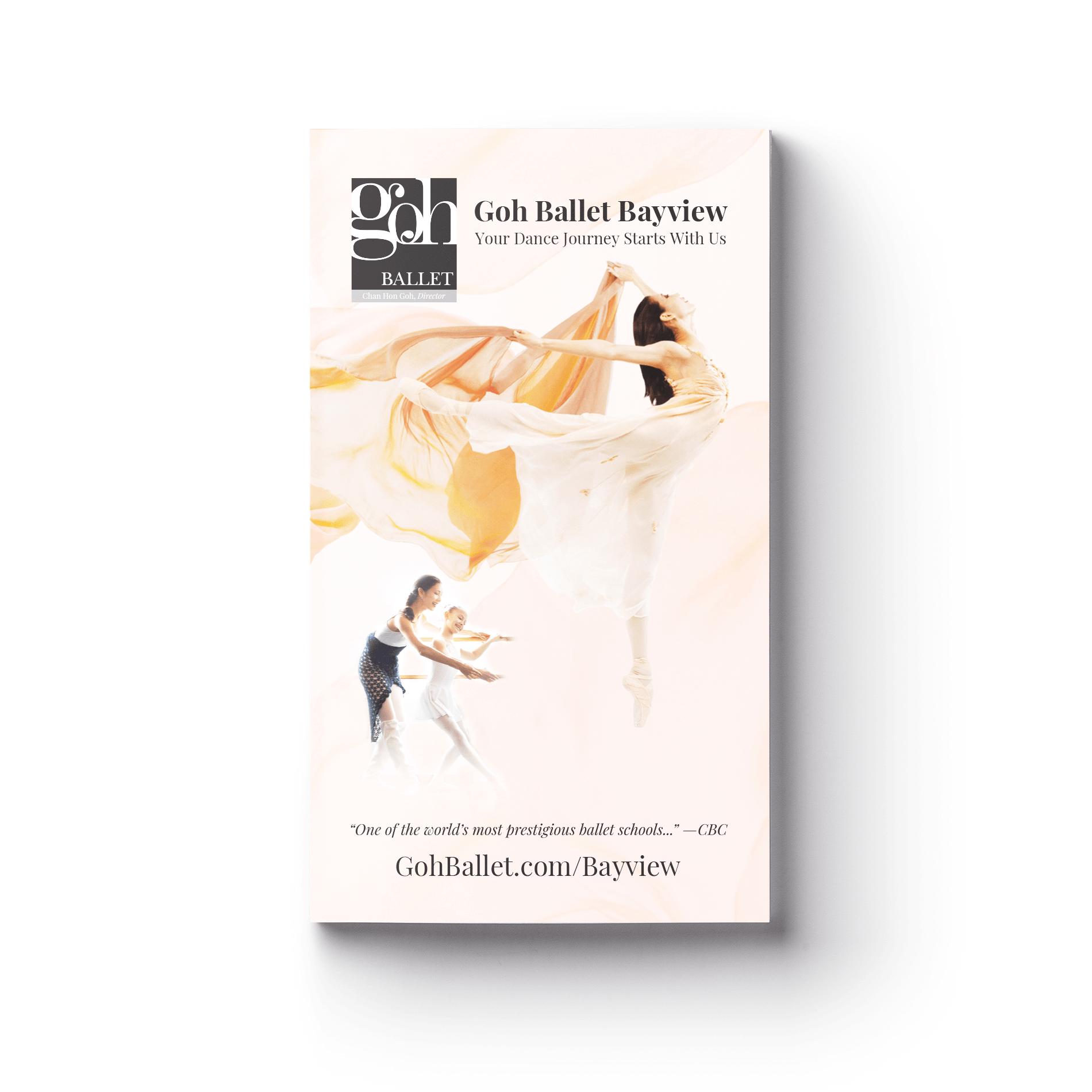 Goh Ballet Bayview English Brochure